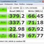 intel330 @ 60GB random data fill